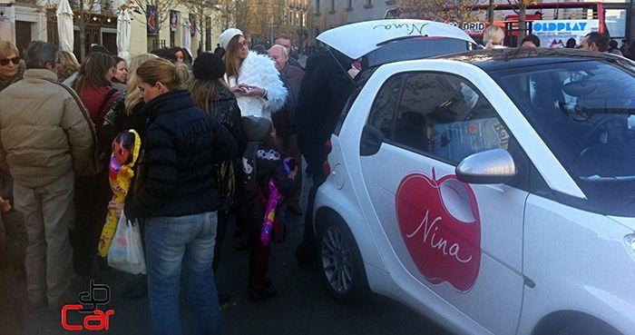 Publicidad en coches, campaña de Nina Ricci _SerbeCar