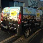 Furgonetas para publicidad - publicidad en furgonetas - SerbeCar