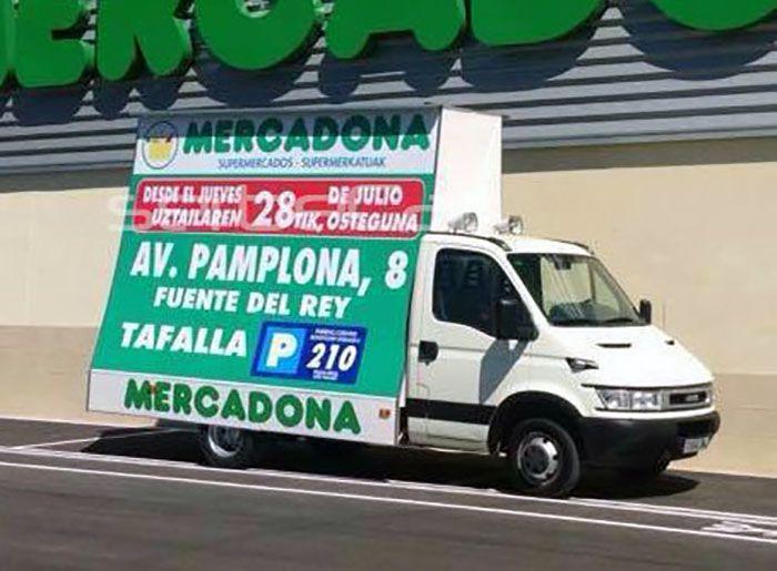 Camiones valla móvil para publicidad - SerbeCar