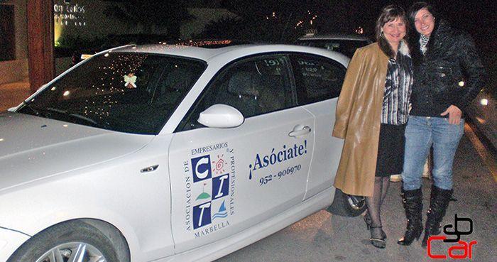 Publicidad en vehículos, campaña de CIT Marbella _SerbeCar