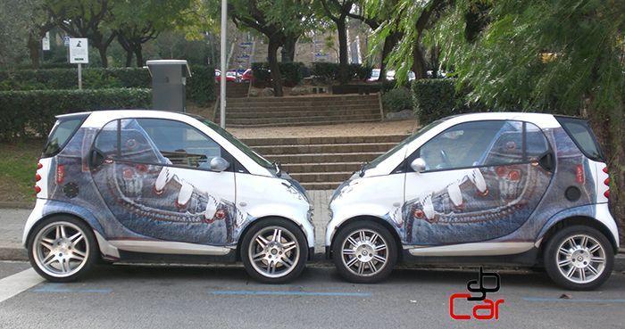 Publicidad en coches, campaña de Lewi´s_SerbeCar