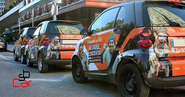 Publicidad en coches, campaña de Luckia _SerbeCar