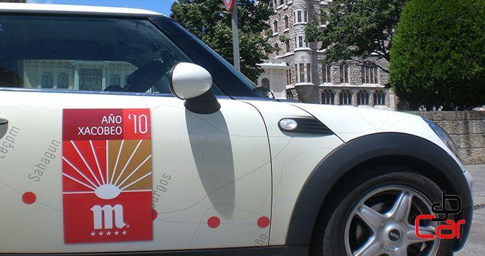Publicidad en vehículos, campaña de Mahou _SerbeCar