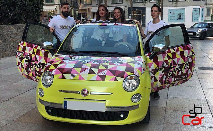 Coches-con-publicidad- campaña de Terraceo _SerbeCar